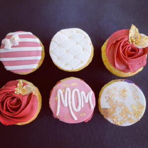 Wolfhead Mother's Day Cupcakes