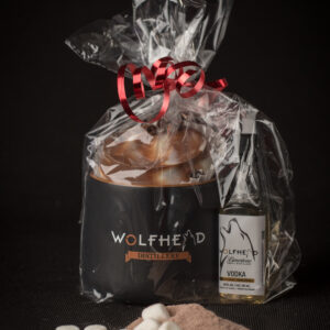 Wolfhead Boozy Bomb Gift Set with Mug