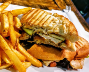 Wolfhead Apple & Brie Panini Melt