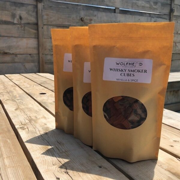 Wolfhead Whisky Smoker Cubes